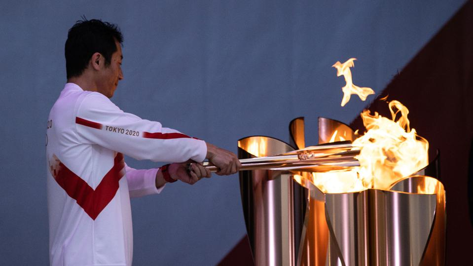 Tokyo Olympic Games Torch Relay Begins