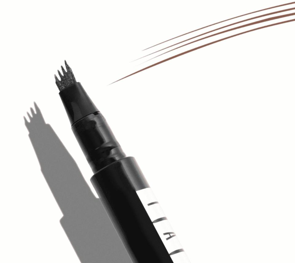 a black pen with three microblades