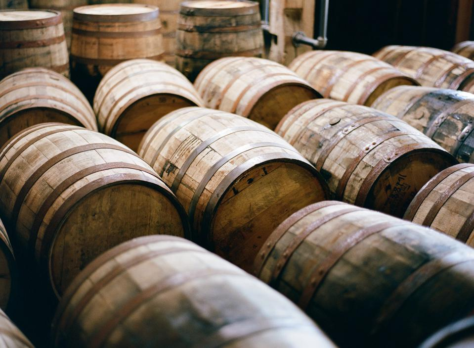 When whiskey barrels pile up, small producers are ultimately hurt.
