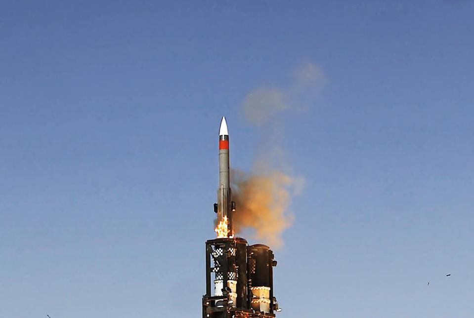 Barak 8ER missile, air defense missile system, IAI
