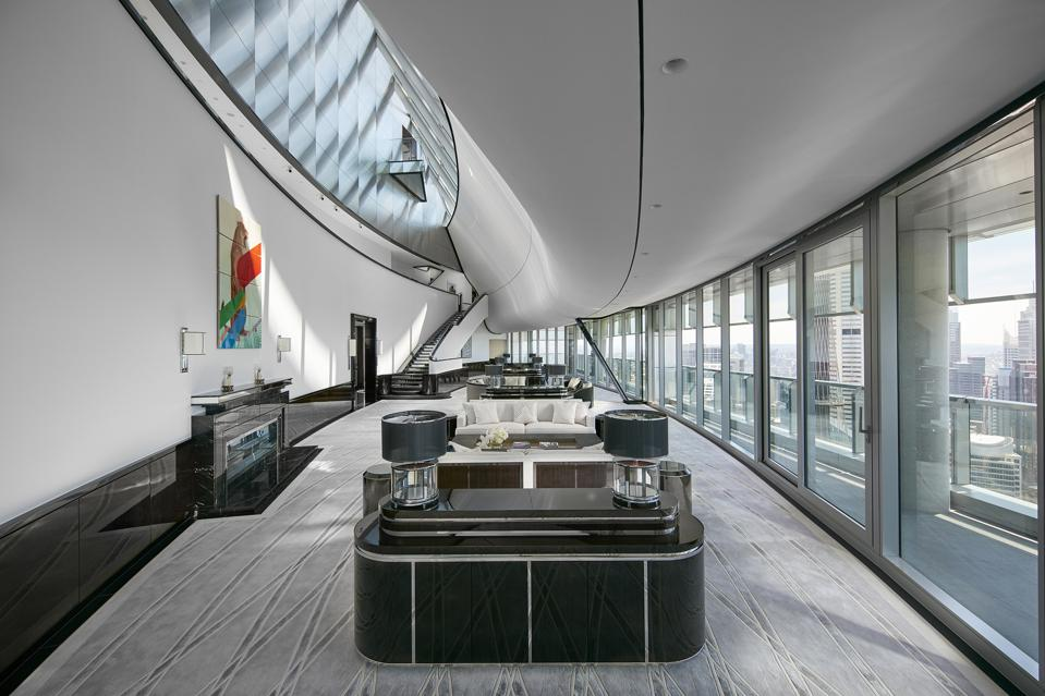 inside exclusive boyd penthouse at anz tower sydney australia
