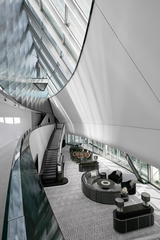great room ceiling boyd penthouse sydney australia