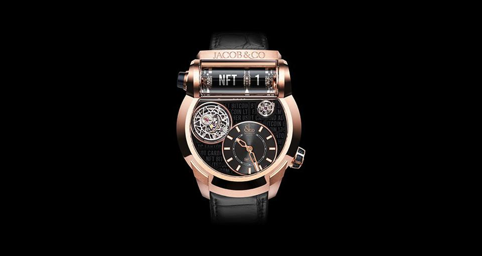 The first luxury watch NFT goes on sale on April 4