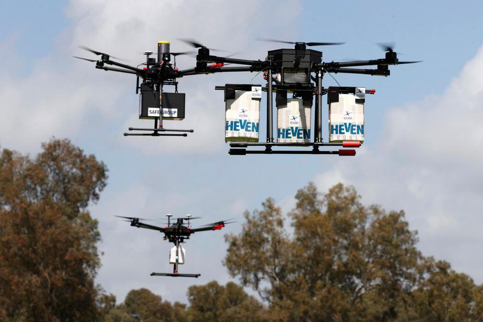 ISRAEL-TECHNOLOGY-DRONE-DEMO