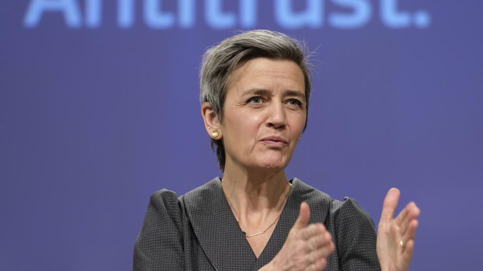 EXECUTIVE VICE PRESIDENT OF THE EUROPEAN COMMISSION FOR A EUROPE FIT FOR THE DIGITAL AGE MARGRETHE VESTAGER