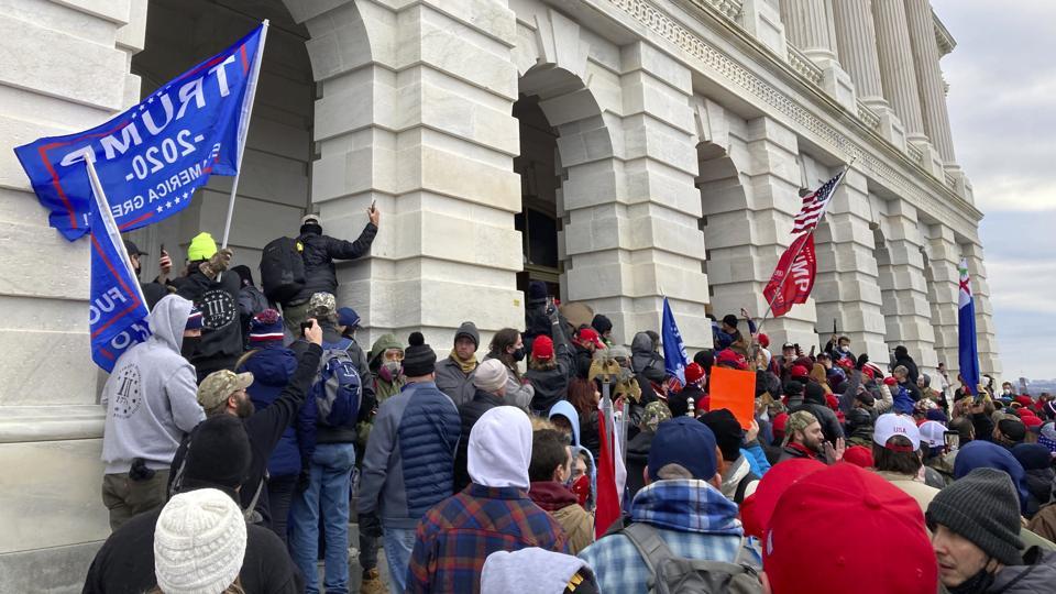 Republican voters change affiliation after Capitol Riots in D.C.