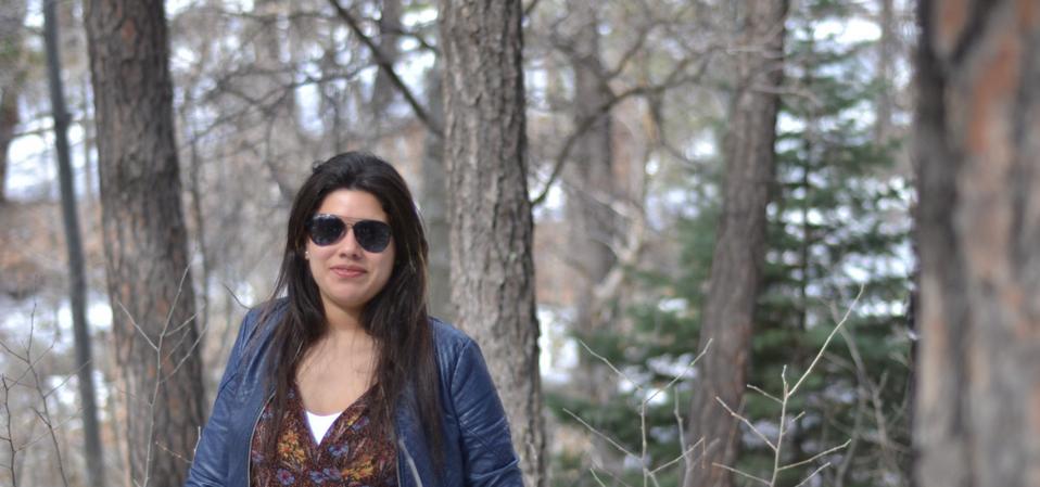 Colombian researcher Daniela Moraga López