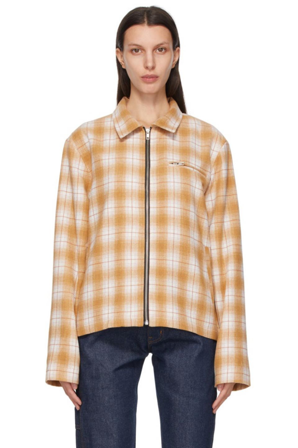 Noon Goons: Brown Check Anderson Jacket