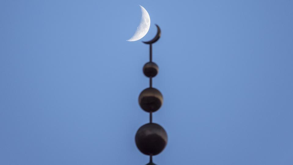 A slim crescent Moon will this week signal the start of the Islamic festival of Ramadan.
