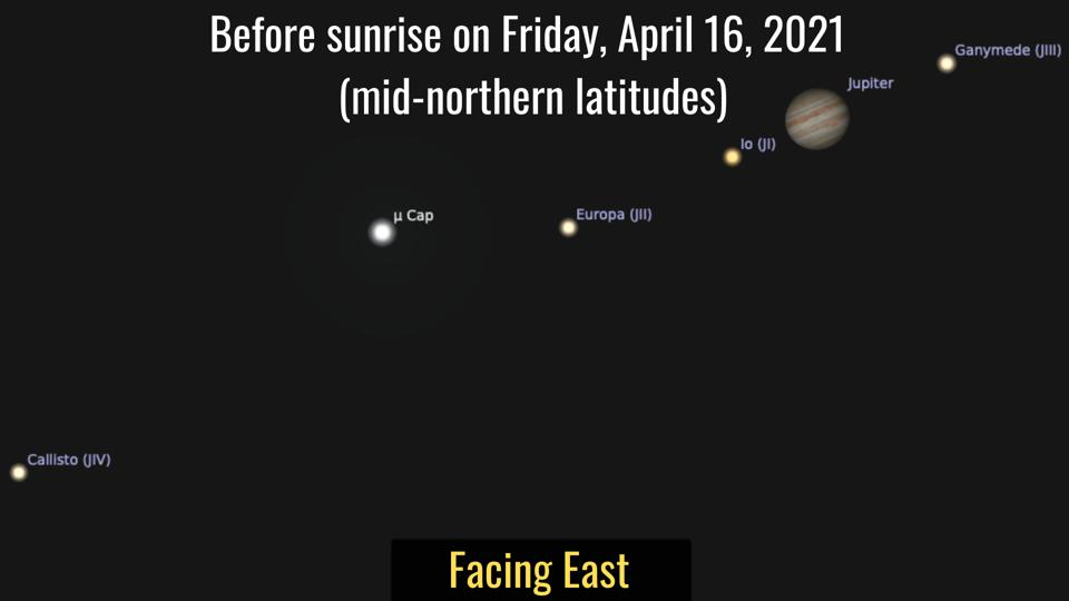 Friday, April 16, 2021: Jupiter gets an extra moon