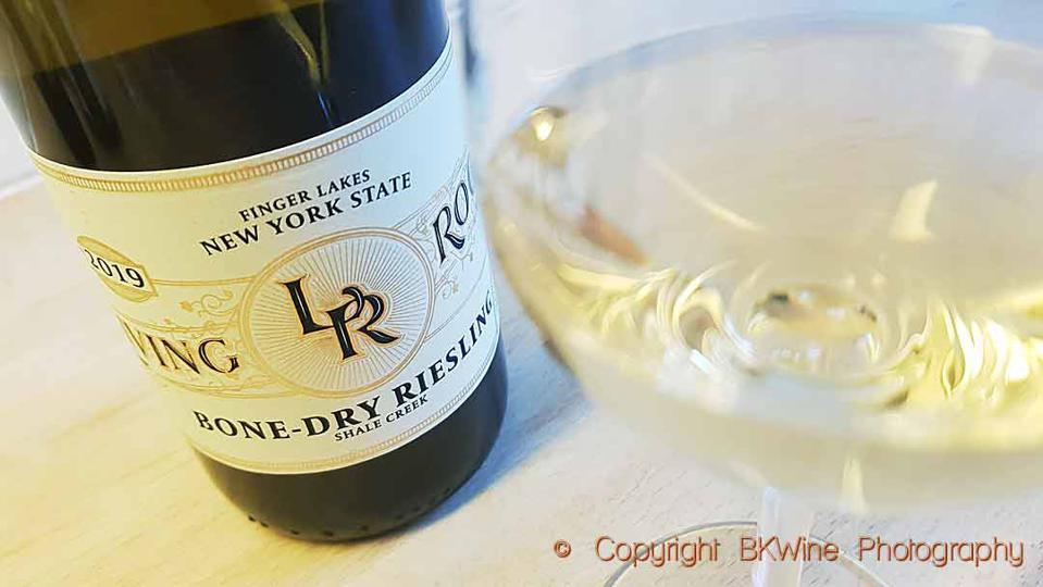 Living Roots Bone Dry Riesling 2019, Finger Lakes, New York