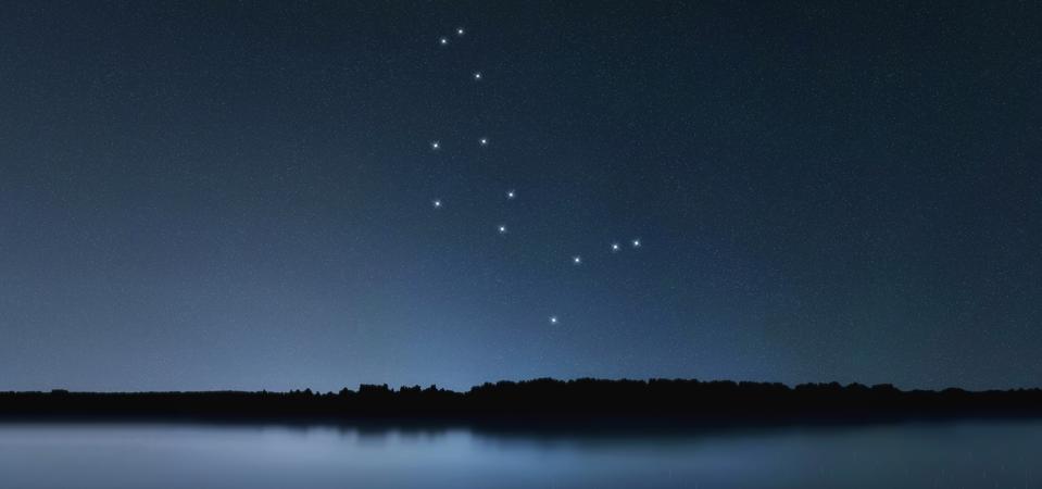 Rasi bintang sepatu, langit malam, gugus bintang, luar angkasa, rasi bintang gembala