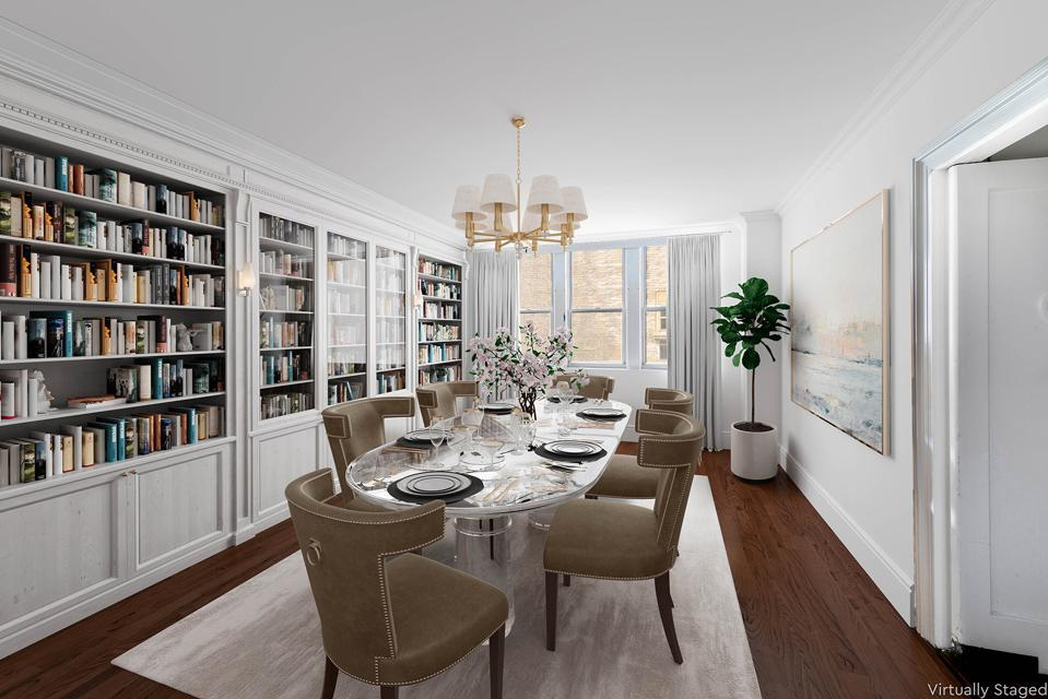 dining room in  1136 Fifth Avenue, Apt 5C manhattan new york city