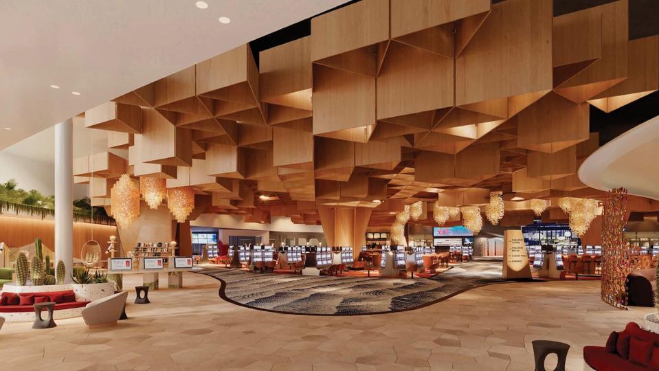 Virgin Hotels Las Vegas lobby