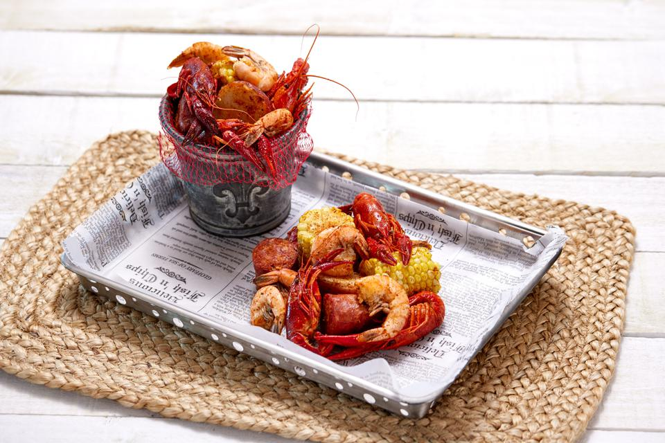 The New Orleans inspired Crawfish Boil