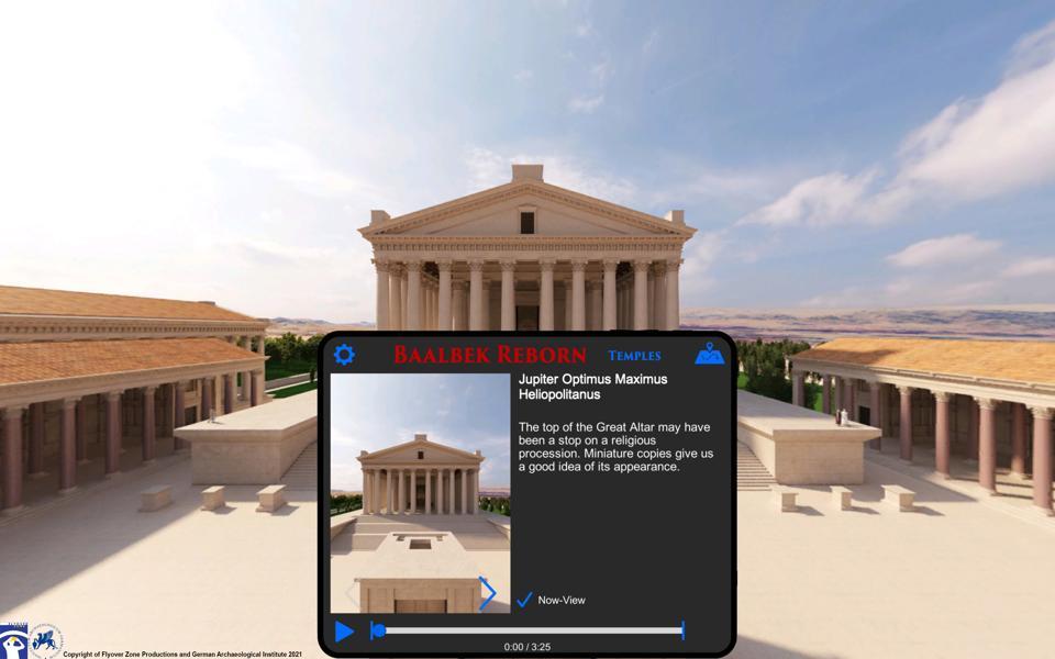 Baalbek Reborn virtual reality app