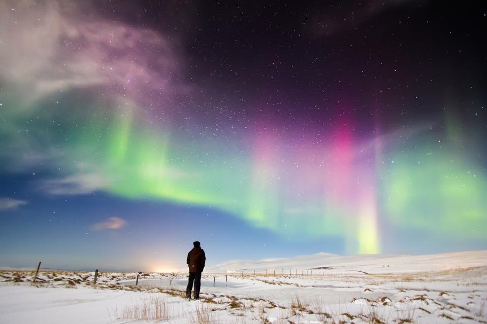 Aurora Borealis Iceland virtual tour