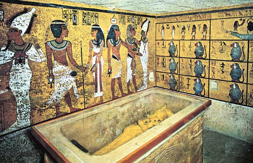 Tomb of Tutankhamun virual tour