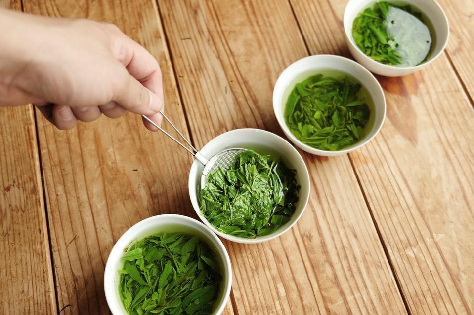 green tea virtual tour at Japan.