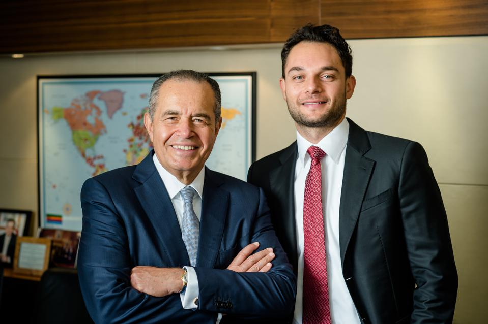 Mr. Mohamed Mansour & Loutfy Mansour from Man Capital, part of the Egyptian Mansour Group.
