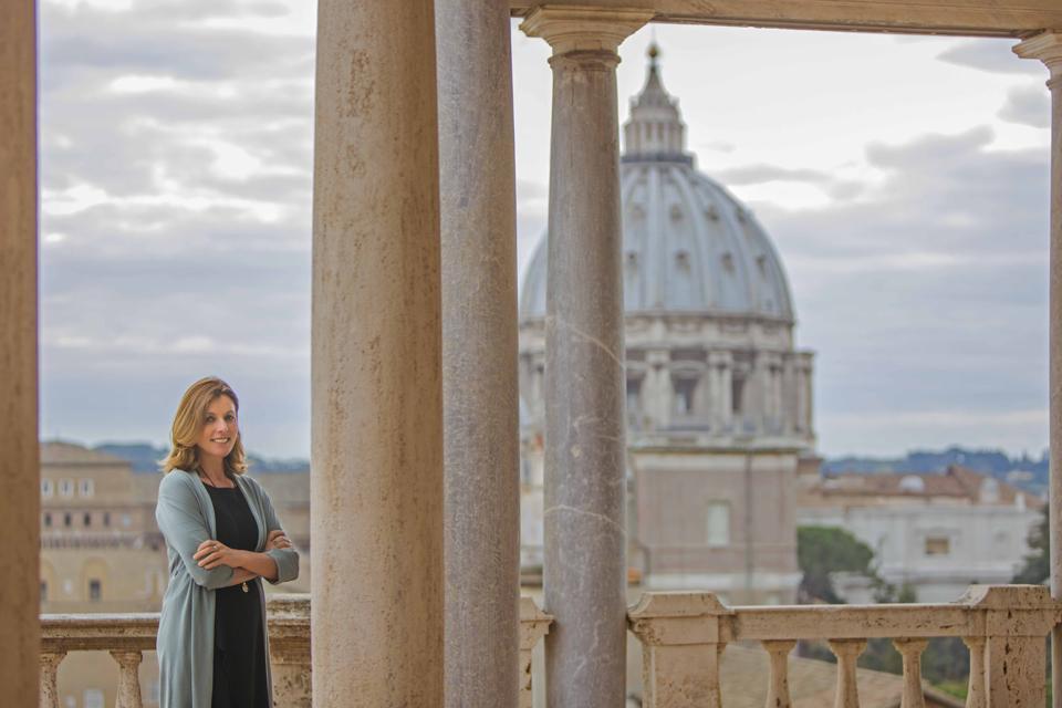 Barbara Jatta, Director of the Vatican Museum
