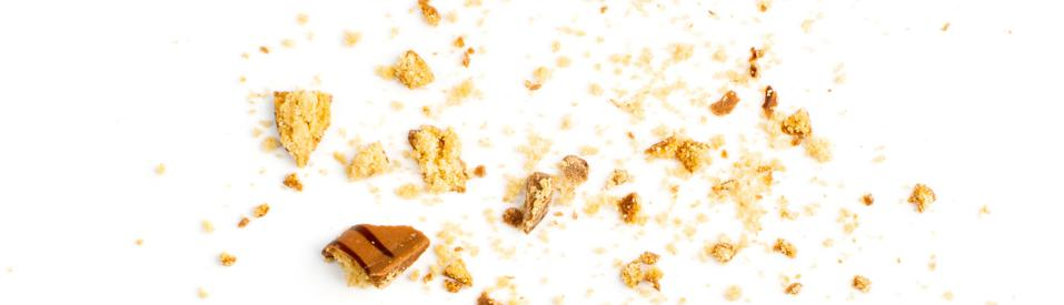 Crumbled Chocolate Chip Biscuits, Broken Butter Cookies