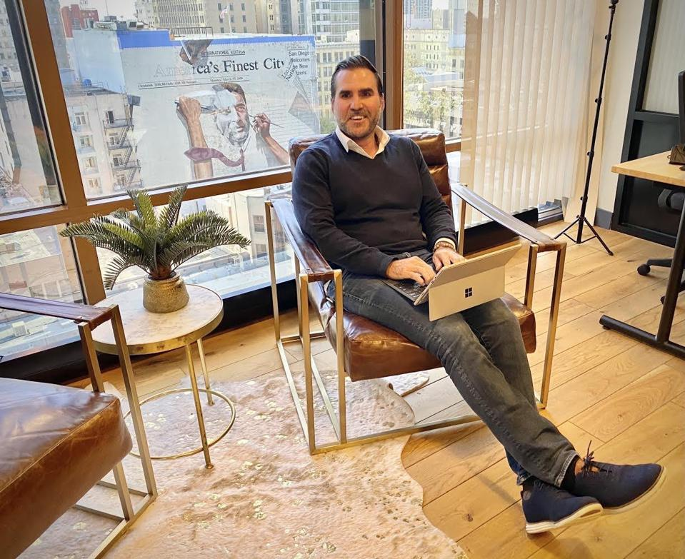 Brian Foote: founder and CEO of HUMBL