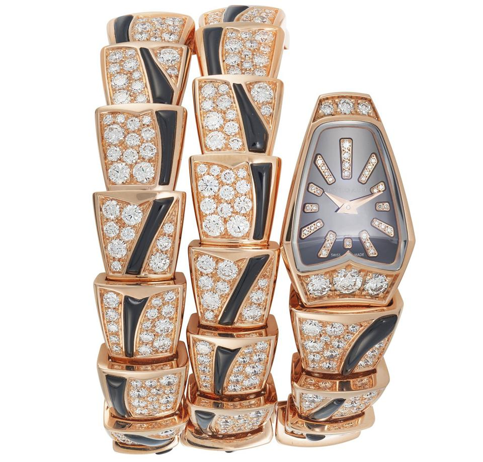 """Bulgari """"Serpenti"""" watch with proceeds going to The Elizabeth Taylor AIDS Foundation"""