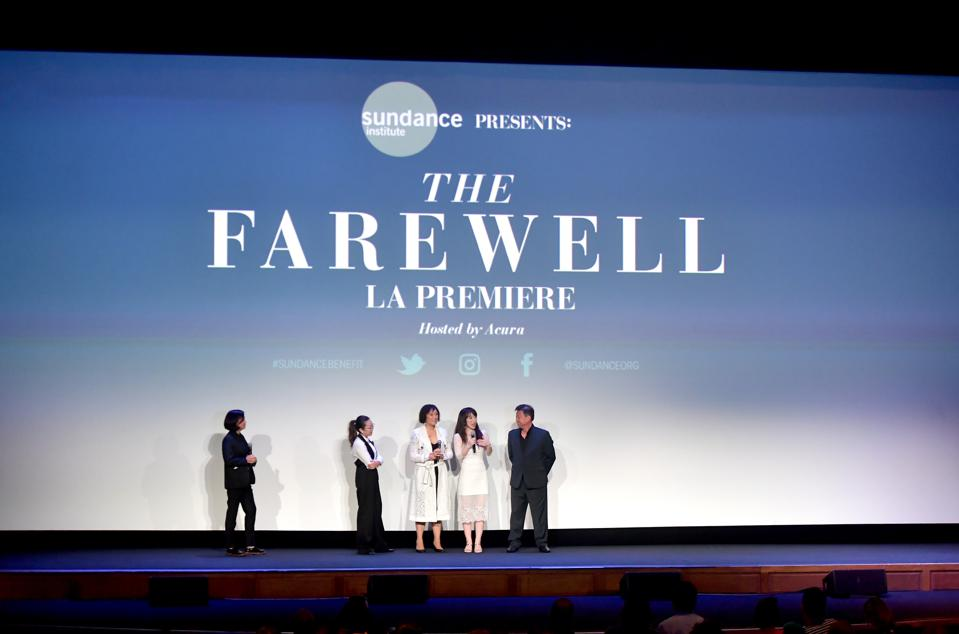 Sundance Institute Presents ″The Farewell″ LA Premiere Hosted By Acura Honoring Lulu Wang With The 2019 Vanguard Award