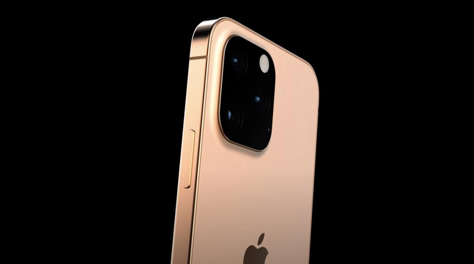This render shows the iPhone 13 Pro in orange. Don't get your hopes up.