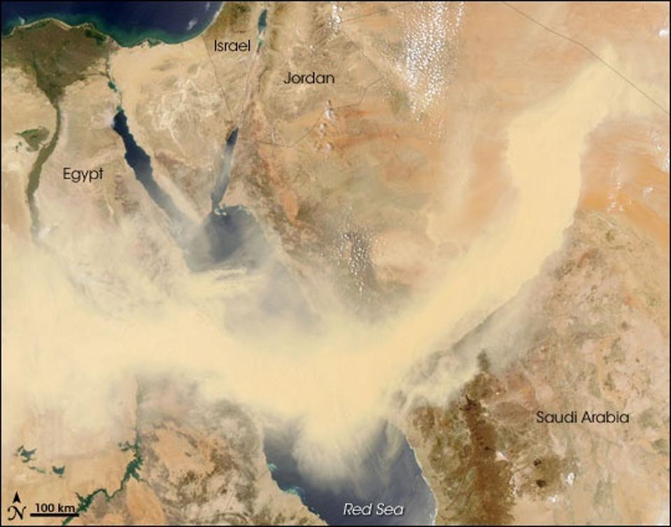 Big dust storm