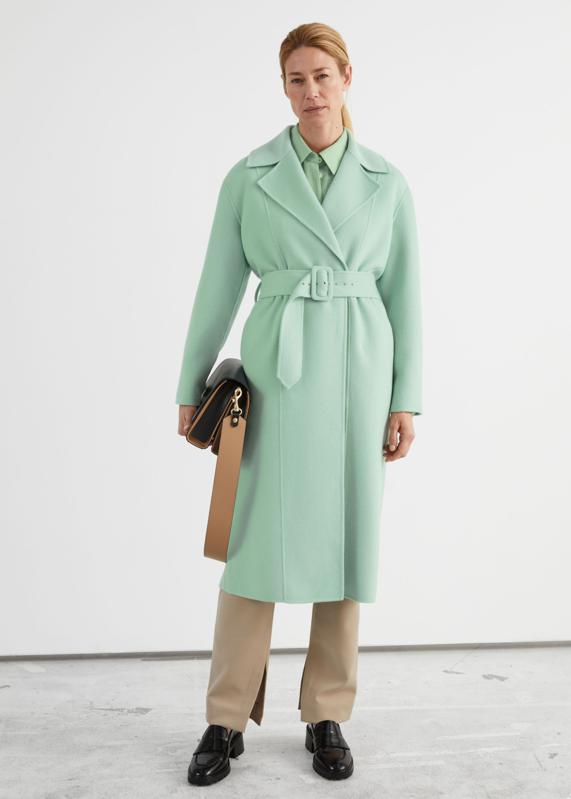 Relaxed Belted Coat