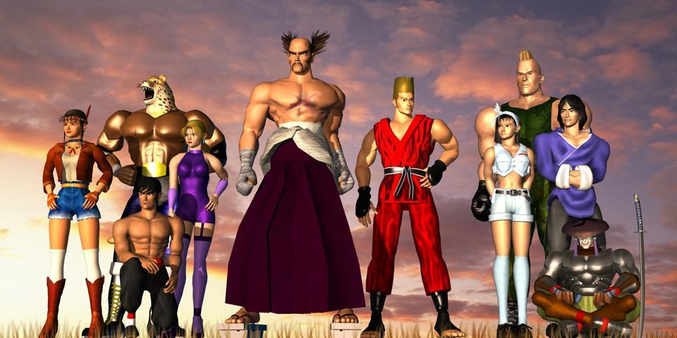 Tekken 2 ten main characters