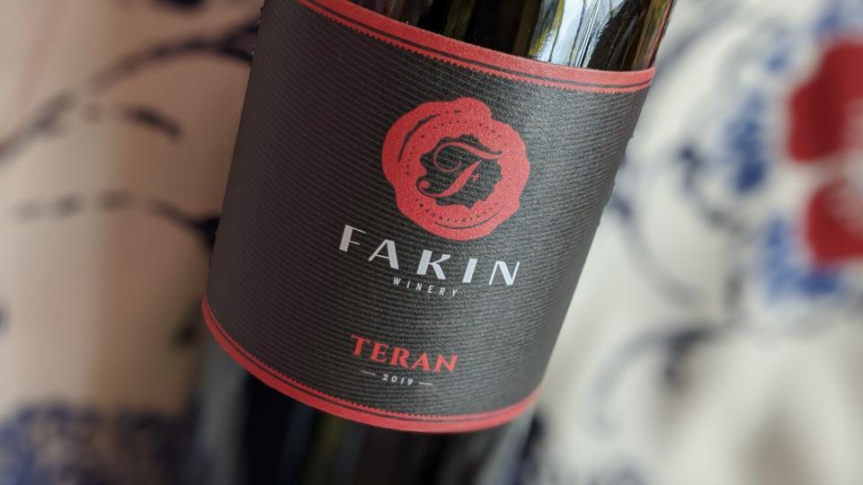 2019 Fakin Teran from Istria, Croatia