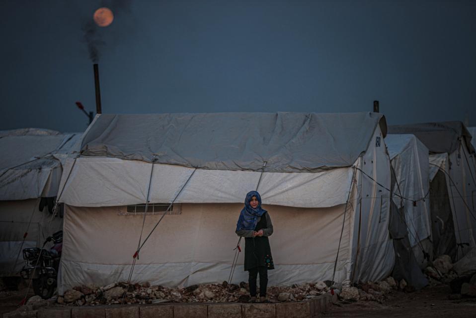 Full Moon in Syria's Idlib