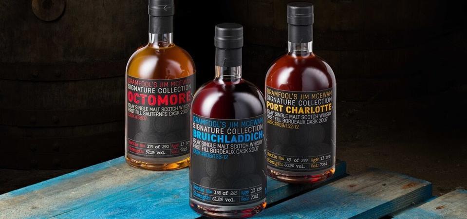 Dramfool Jim McEwan Port Charlotte Octomore Scotch Islay Single Malt Whisky