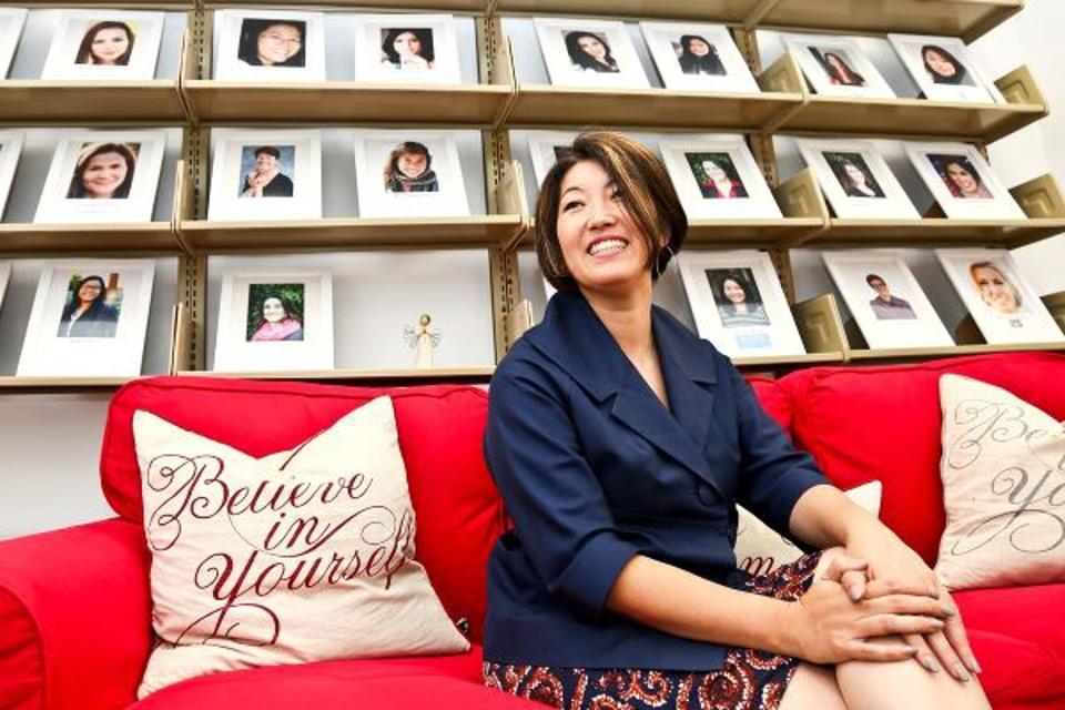 Horie Ari, CEO of Women's Startup Lab