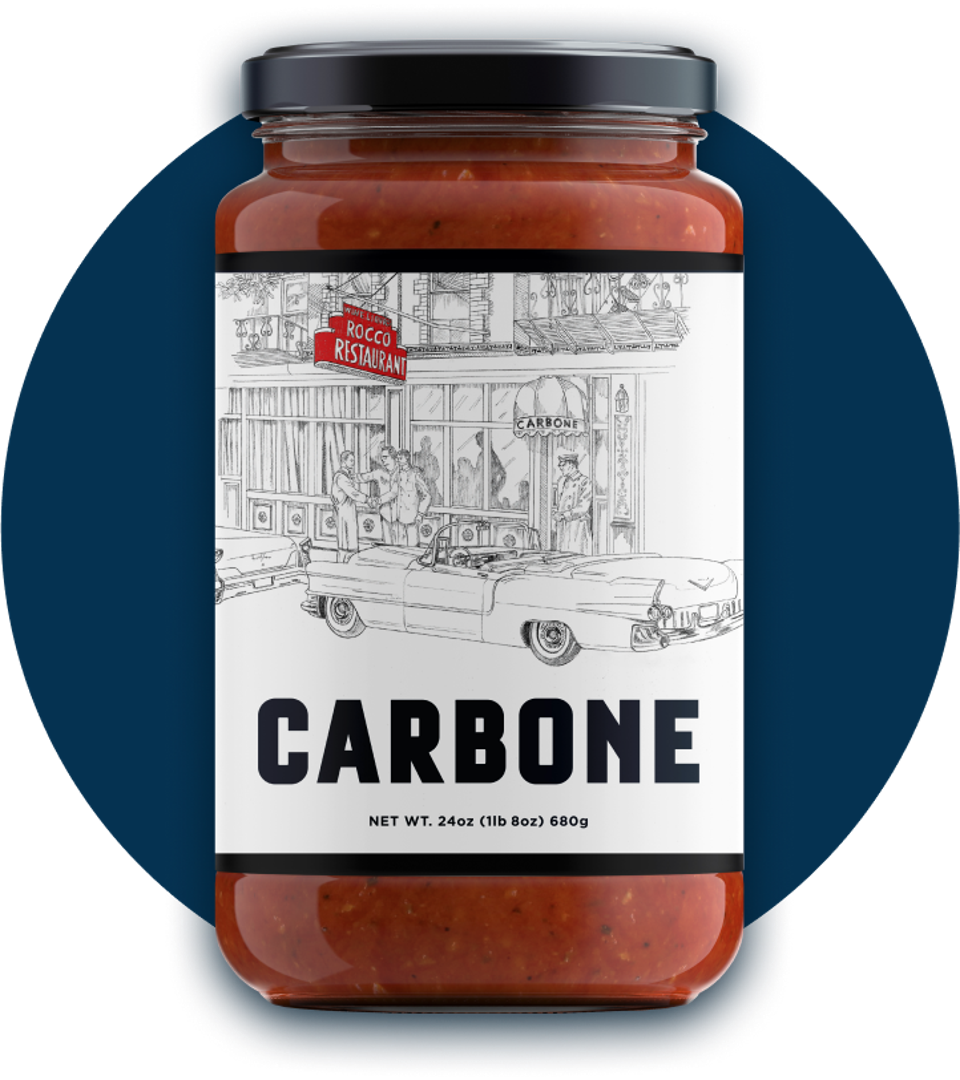 Carbone Fine Foods' jarred sauce