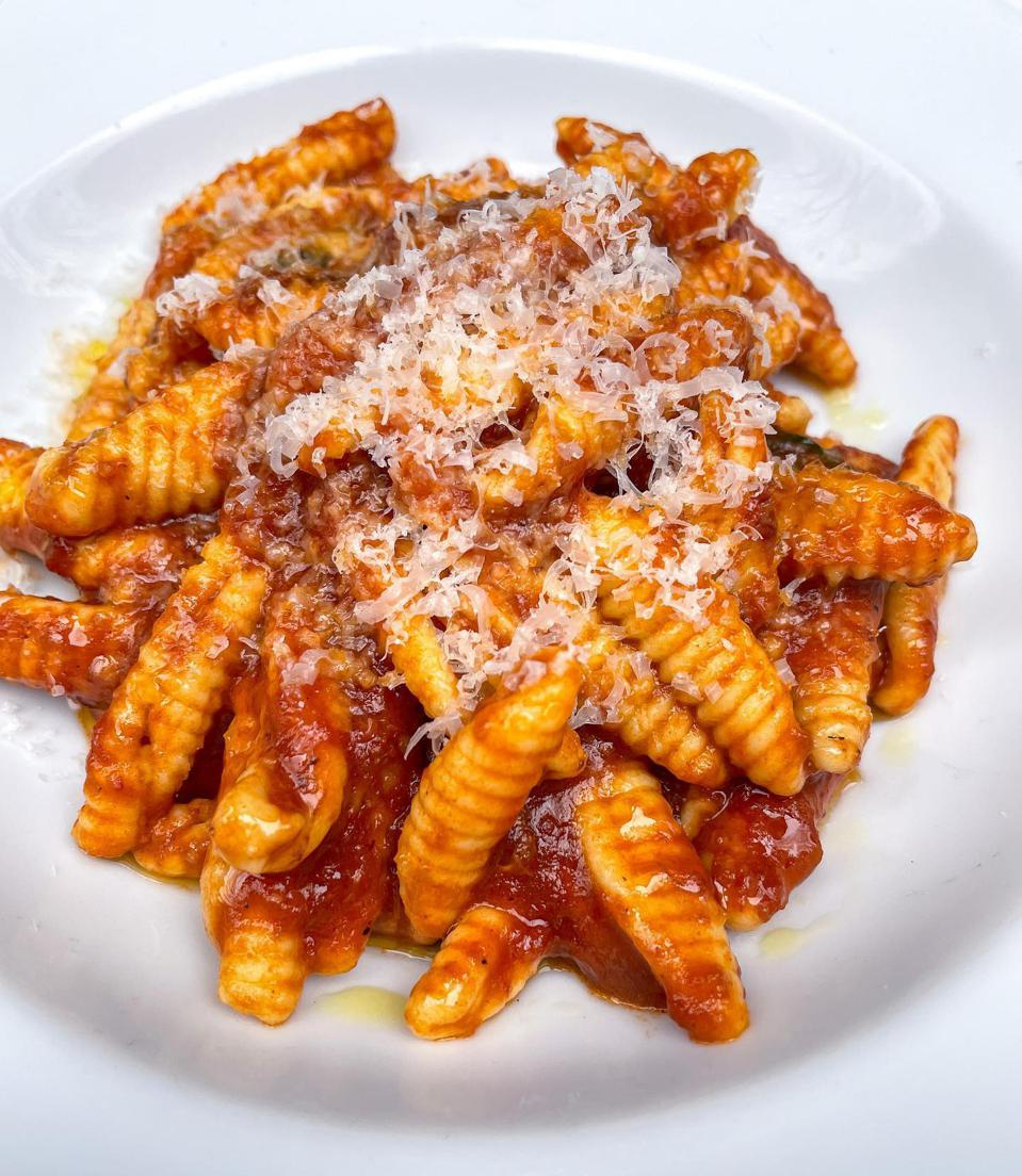 Cavatelli at Carbone in New York City