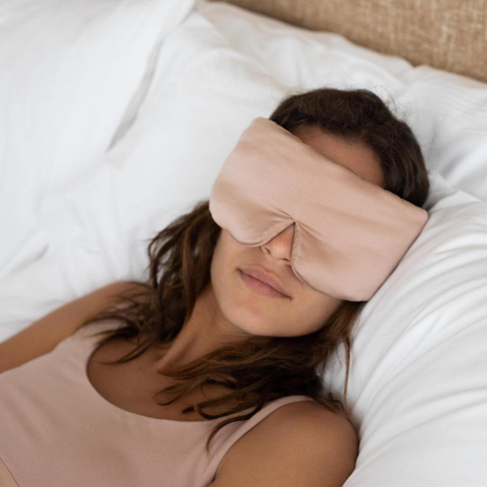 Lunya Washable Silk Sleep Mask