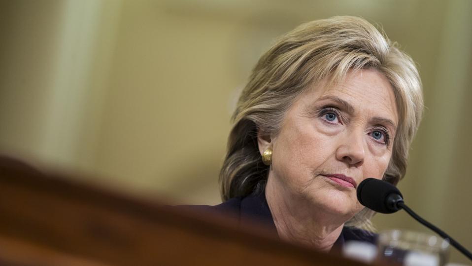 US Former Secretary Hillary Clinton Testifies at Benghazi Hearing