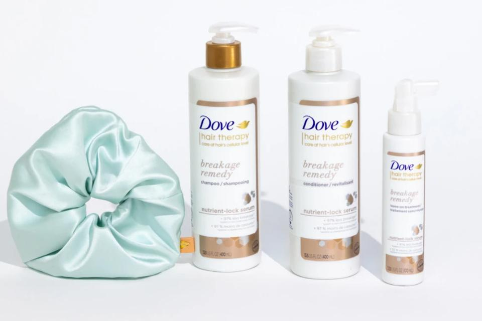 Dove Hair Therapy Breakage Remedy + Silk Scrunchie