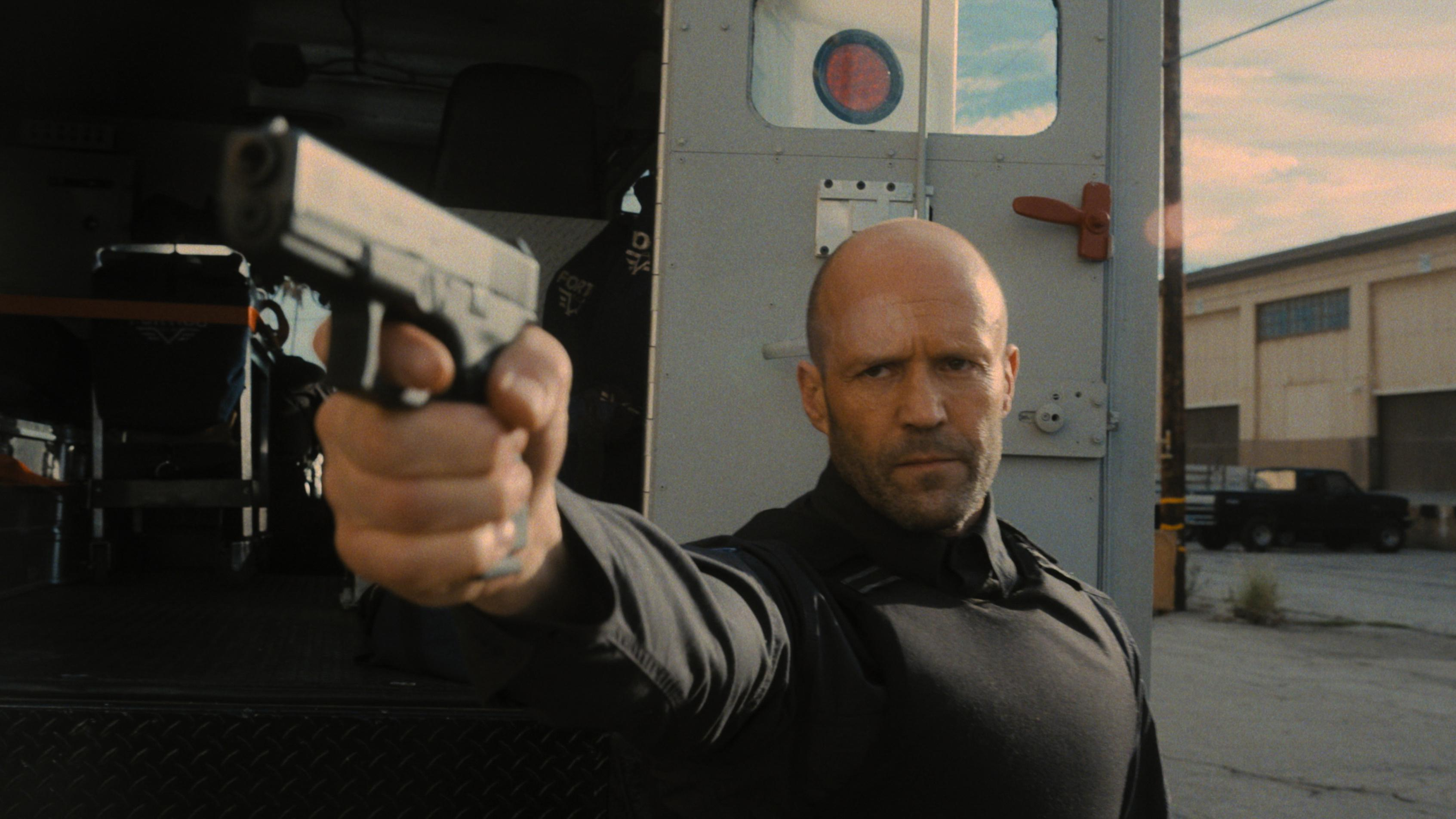 Jason Statham in Guy Ritchie's 'Wrath of Man'