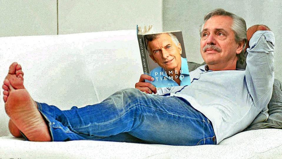 Mauricio Macri's book has revolutionized the political agenda in Argentina