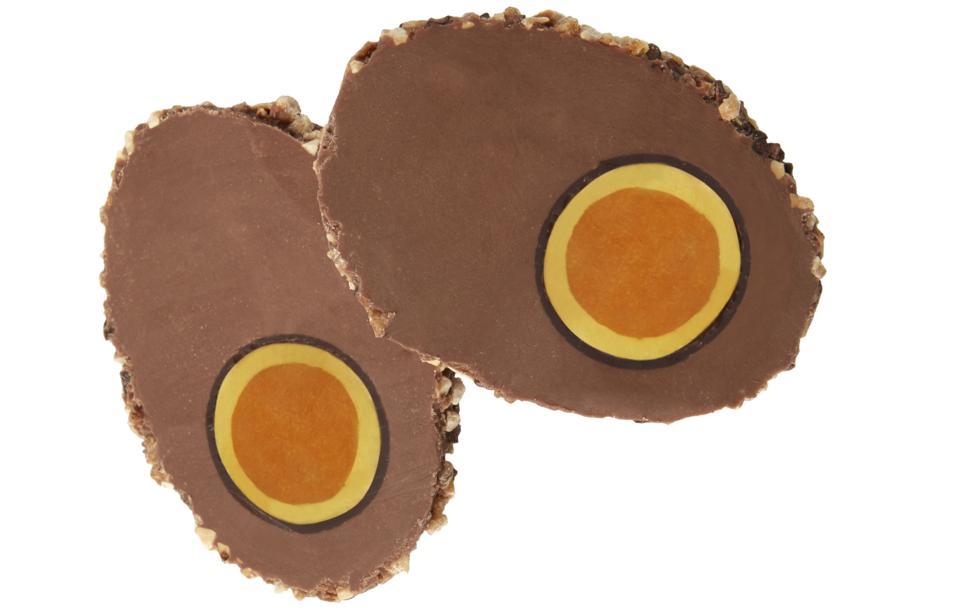 Chocolate scotch egg