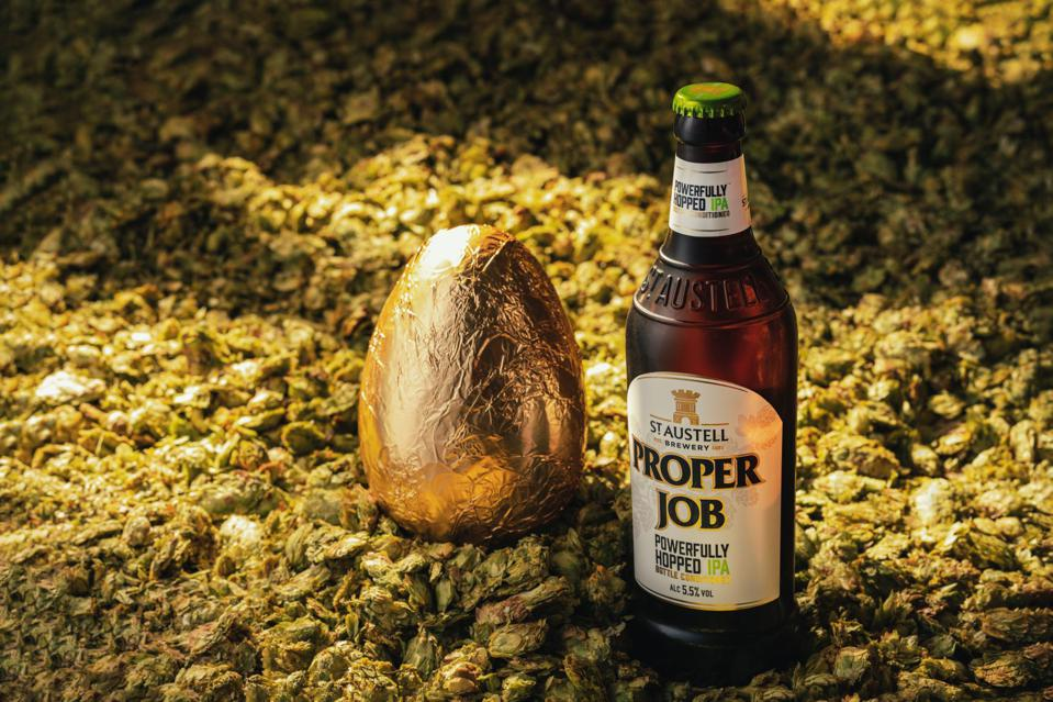 This Cornish brewery has designed a chcolate beer egg for 2021.