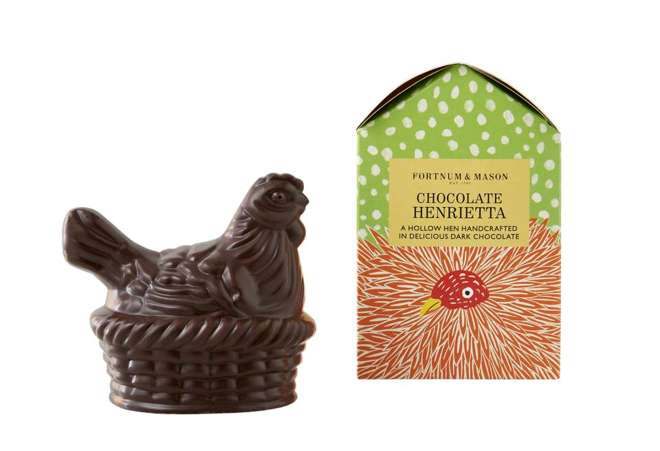 Chocolate Easter hen