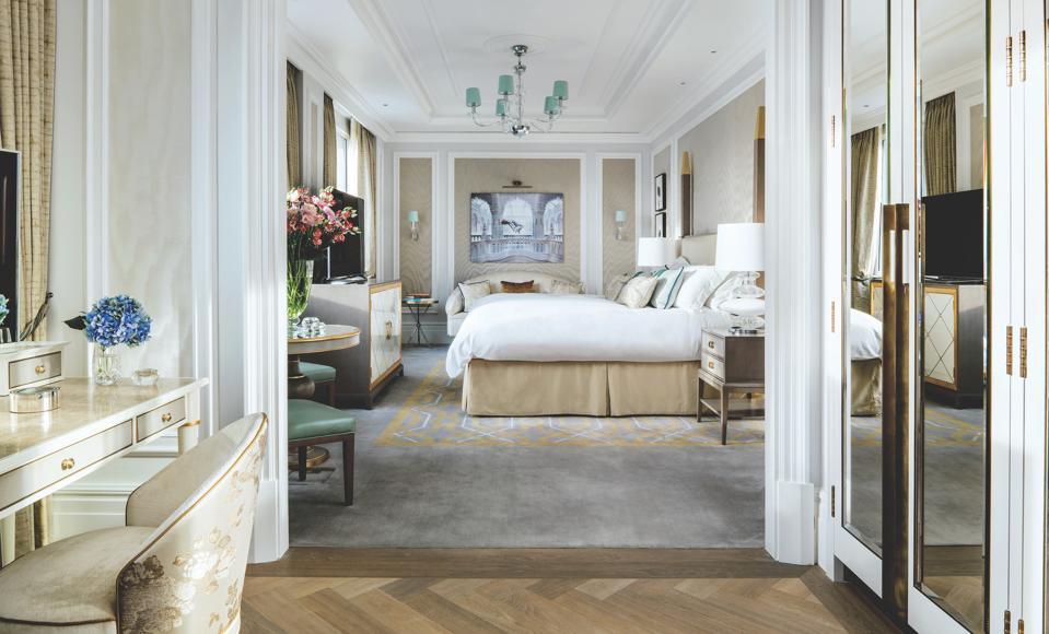 A suite at Langham