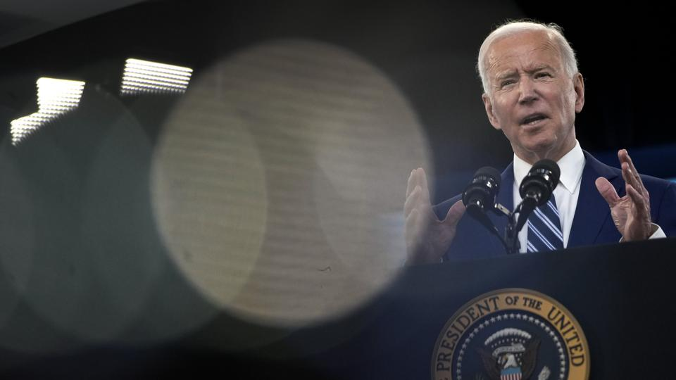 President Biden Delivers Remarks On COVID-19 Response And State Of Vaccinations
