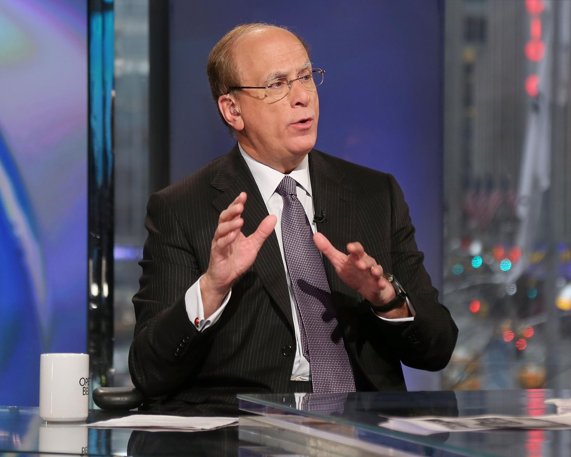 BlackRock Chairman & CEO Laurence D. Fink appears on ″Opening Bell with Maria Bartiromo″ on the FOX Business Network.